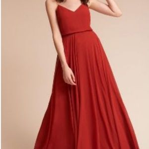 BHLDN Jenny Yoo Inesse Dress, Size 8